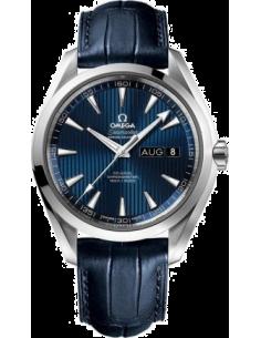 Chic Time | Montre Homme Omega Seamaster 23113432203002 Bleu  | Prix : 6,900.00