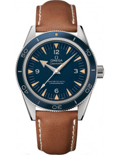Chic Time | Montre Homme Omega Seamaster 23392412103001 Marron  | Prix : 6,900.00