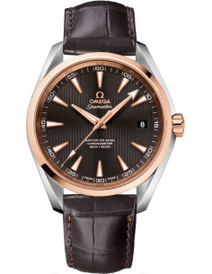 Chic Time | Montre Homme Omega Seamaster 23123422102001 Marron  | Prix : 7,000.00