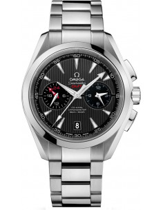 Chic Time | Montre Homme Omega Seamaster 23110435206001 Argent  | Prix : 7,700.00