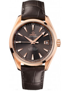Chic Time | Montre Homme Omega Seamaster 23153422106001 Marron  | Prix : 15,800.00
