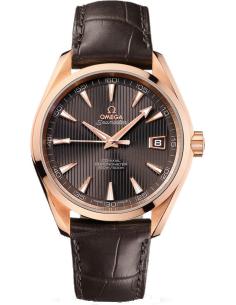Chic Time | Montre Homme Omega Seamaster 23153422106001 Marron  | Prix : 15,800.00