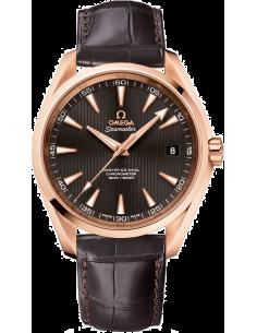 Chic Time | Montre Homme Omega Seamaster 23153422106002 Marron  | Prix : 16,200.00