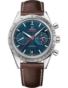 Chic Time | Montre Homme Omega Speedmaster 33112425103001 Marron  | Prix : 7,200.00