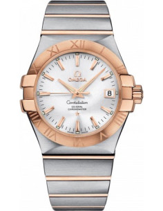 Chic Time | Montre Homme Omega Constellation 12320352002001 Argent  | Prix : 5,800.00