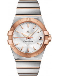 Chic Time | Montre Homme Omega Constellation 12320382102001 Argent  | Prix : 7,400.00