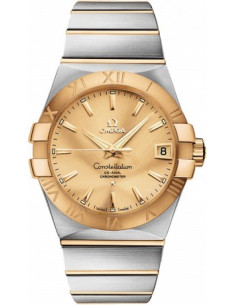Chic Time | Montre Homme Omega Constellation 12320382108001 Argent  | Prix : 7,400.00