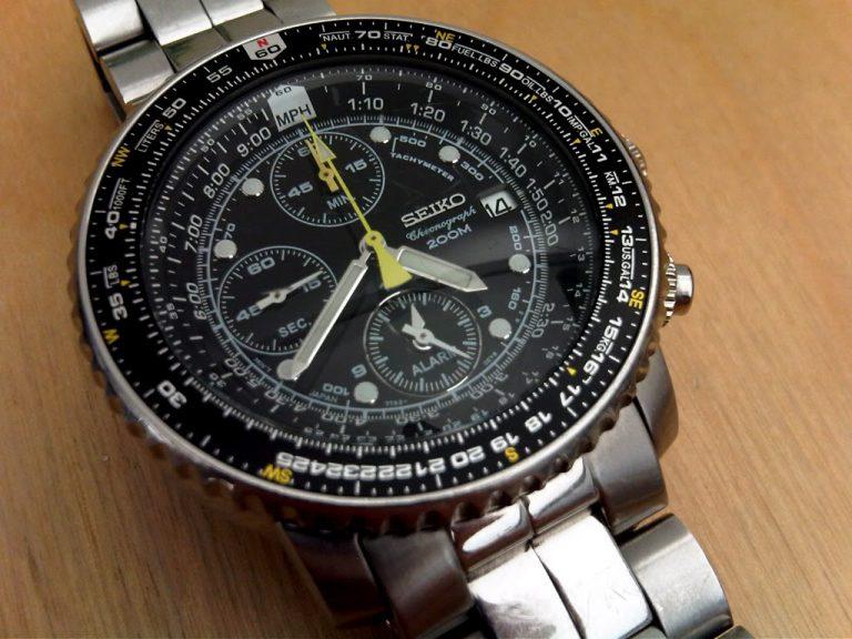 Le chronographe Seiko SNA411