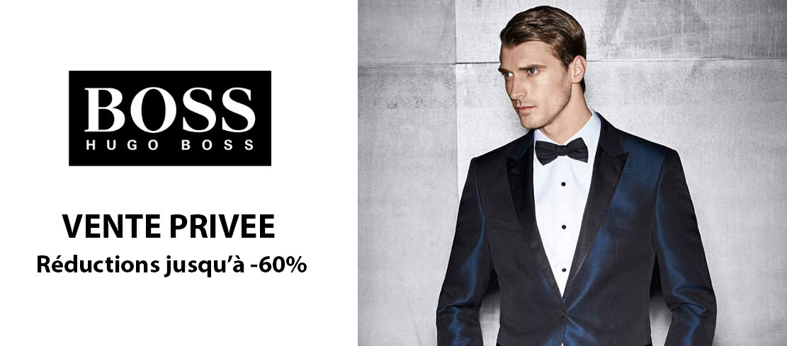 Vente privée Hugo Boss