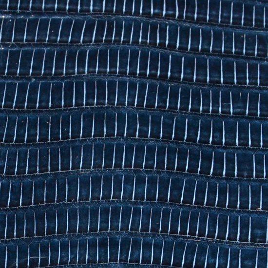 cuir-lezard-teju-bleu