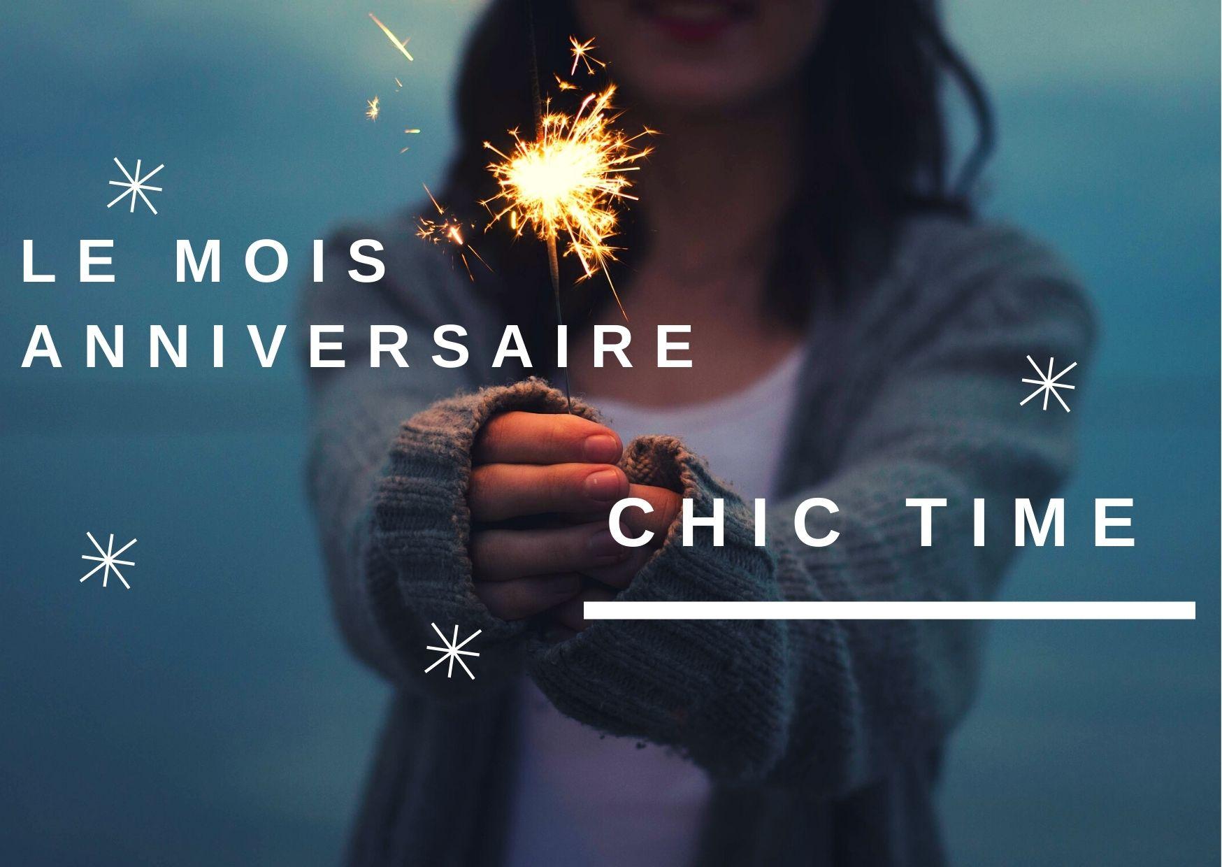 Chic Time fête ses 2 ans !