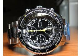 Banc d'essai de la montre chronographe Seiko SNA411 FlightMaster